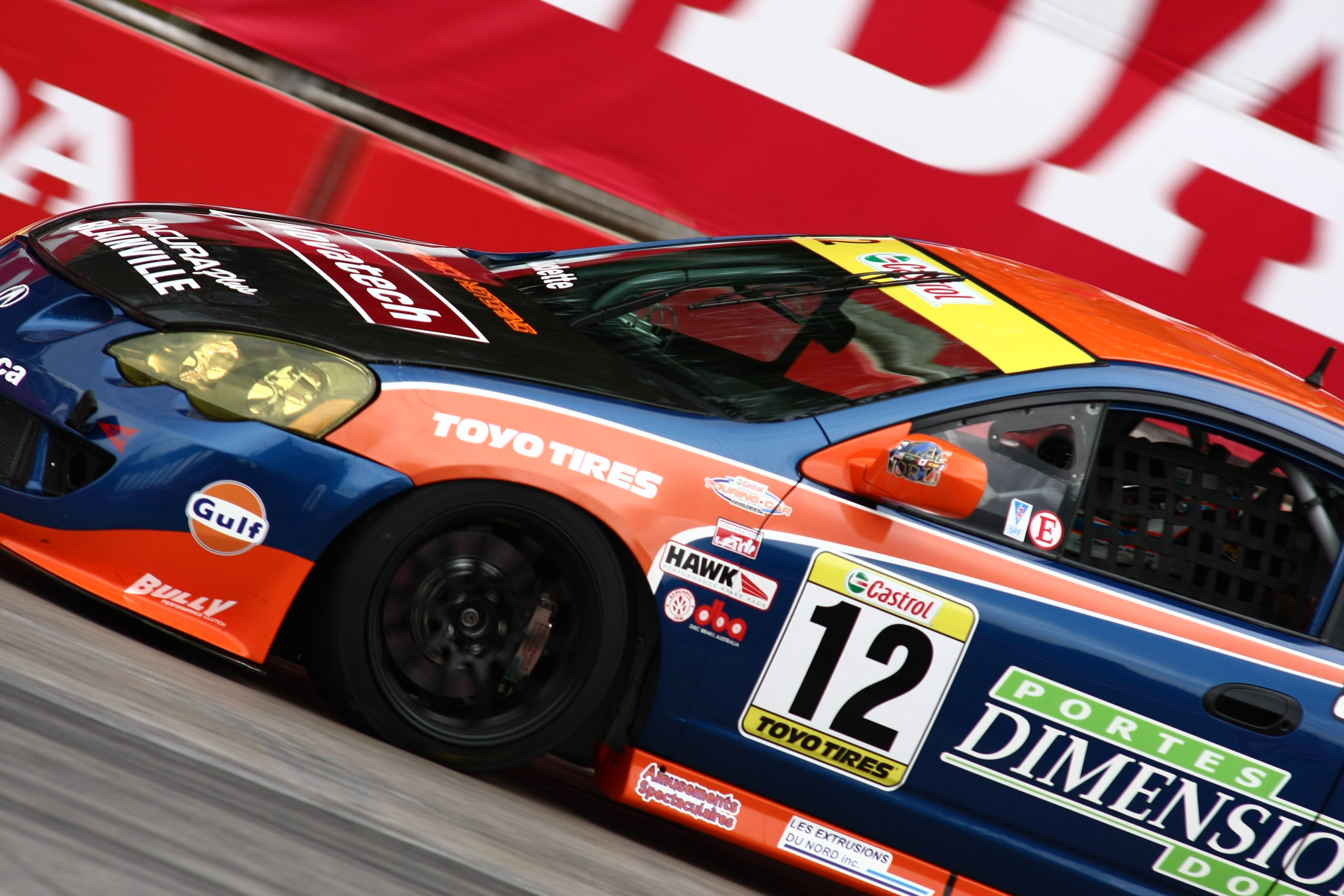 ANZE Supports Canadian Touring Car