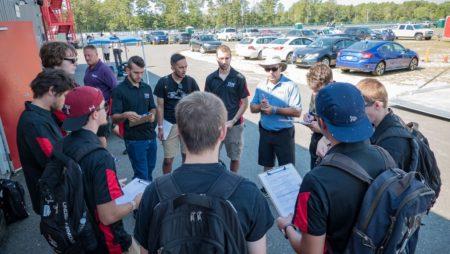 Formula SAE Students Join FRP Paddock